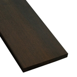 1x6+ (21mm) One-Sided Pregrooved Ipe Decking
